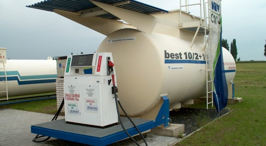 Bezobslužka - Samoobslužná čerpací stanice na naftu a benzín s tankautomatem QUITEC